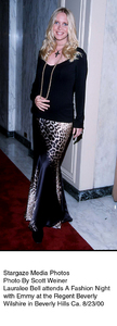 """A Fashion Night With Emmy,""8/23/00.  Lauralee Bell. © 2000 Scott Weiner - Image 17167_0101"