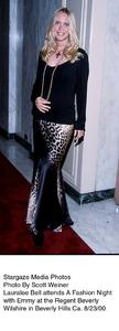 """A Fashion Night With Emmy,""8/23/00.  Lauralee Bell. © 2000 Scott Weiner - Image 17167_0101"