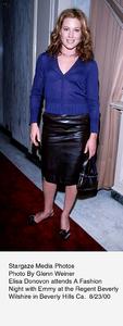 """A Fashion Night With Emmy,"" 8/23/00.Elisa Donovon. © 2000 Glenn Weiner - Image 17167_0102"