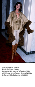 """A Fashion Night With Emmy,"" 8/23/00.Catherine Bell. © 2000 Glenn Weiner - Image 17167_0103"