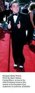 """Primetime Emmy Creative Arts Awards - 2000,""8/26/00.  Frankie Muniz. © 2000 Glenn Weiner - Image 17169_0103"