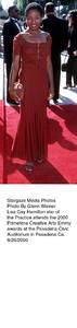 """Primetime Emmy Creative Arts Awards - 2000,""8/26/00.    Lisa Gay Hamilton. © 2000 Glenn Weiner - Image 17169_0114"