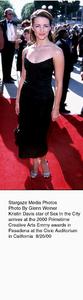 """Primetime Emmy Creative Arts Awards - 2000,""8/26/00.  Kristin Davis. © 2000 Glenn Weiner - Image 17169_0115"