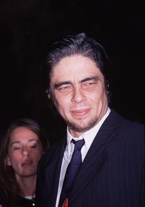 """Way Of The Gun, The"" Premiere.8/29/00.  Benicio Del Toro. © 2000 Glenn Weiner - Image 17182_0003"