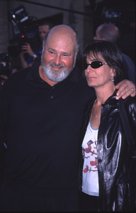 """""""This Is Spinal Tap"""" Premiere (Re-release).9/5/00.  Rob Reiner & Wife. © 2000 Glenn Weiner - Image 17198_0006"""