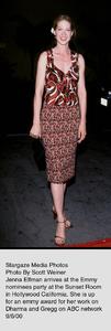 """""""Emmy Nominees Party,"""" 9/6/00.Jenna Elfman. © 2000 Scott Weiner - Image 17200_0101"""