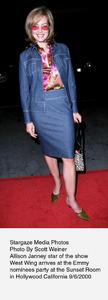 """""""Emmy Nominees Party,"""" 9/6/00.Allison Janney. © 2000 Scott Weiner - Image 17200_0104"""