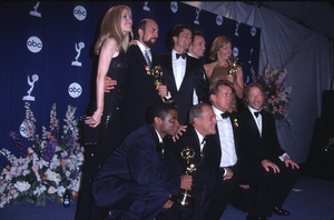 """Emmy Awards: 52nd Annual (Primetime),""9/10/2000.  Cast of ""West Wing."" © 2000 Glenn Weiner - Image 17208_0026"