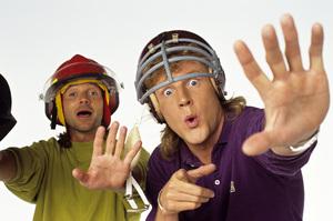 """The Adventures of Mark & Brian""Brian Phelps, Mark Thompson1991 © 1991 Mario Casilli - Image 17225_0005"