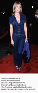 """""""Dancer In The Dark"""" Premiere.9/26/00.  Rosanna Arquette. © 2000 Glenn Weiner - Image 17231_0100"""