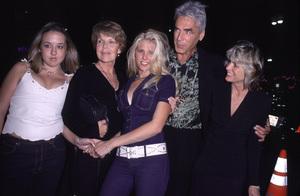 """""""Contender, The"""" Premiere.Sam Elliot, wife Katharine Ross,and family.  10/5/00. © 2000 Glenn Weiner - Image 17245_0008"""