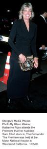 """Contender, The"" Premiere.Katharine Ross.  10/5/00. © 2000 Glenn Weiner - Image 17245_0104"