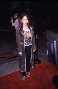 """Requiem For A Dream"" Premiere.Mara Sokoloff.  10/16/00. © 2000 Scott Weiner - Image 17256_0008"