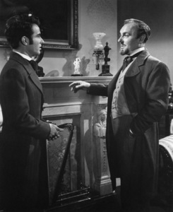 """""""The Heiress"""" Montgomery Clift, Ralph Richardson1949 Paramount Pictures** I.V. - Image 17257_0014"""