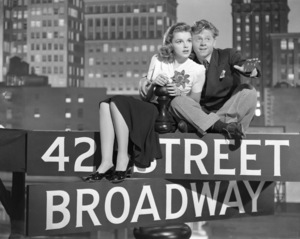 """Babes on Broadway""Judy Garland, Mickey Rooney1941 MGM** I.V. - Image 17260_0004"