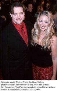 """Bedazzled"" Premiere.Brendan Fraser and wife Afton.10/17/00. © 2000 Glenn Weiner - Image 17264_0106"
