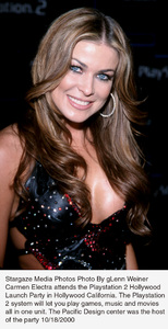 Playstation 2 Hollywood Launch Party:Carmen Electra.  10/18/00. © 2000 Glenn Weiner - Image 17265_0101