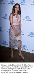 Jennifer Lopez attends the Boys and Girls Clubs Dinnerat the Regent Beverly Hotel L.A. Ca. 10/17/2000. © 2000 Glenn Weiner - Image 17266_0101