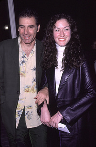 """""""Ladies Man, The"""" Premiere.Michael Richards and Tracy Caprice. 10/10/00. © 2000 Scott Weiner - Image 17267_0002"""