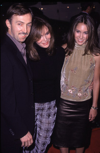 "Jaclyn Smith, husband Dr. Brad Allan, daughter""Charlie"