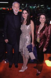 "Leonard Goldberg, wife Wendy, daughter Amanda.""Charlie"