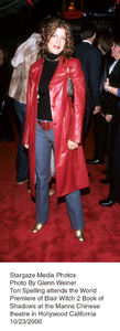 """Blair Witch 2: Book Of Shadows"" Premiere.Tori Spelling.  10/23/00. © 2000 Glenn Weiner - Image 17270_0101"