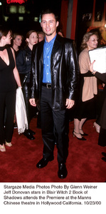 """Blair Witch 2: Book Of Shadows"" Premiere.Jeffrey Donovan.  10/23/00. © 2000 Glenn Weiner - Image 17270_0105"