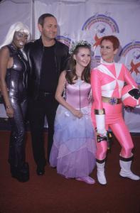 Shar Jackson, John Dempsey, Beverley Mitchell, Jamie Lee Curtis.  Dream Halloween 2000.  10/29/00. © 2000 Glenn Weiner - Image 17275_0008