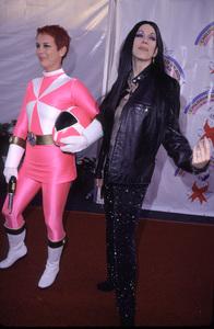 Jamie Lee Curtis, Leeza GibbonsDream Halloween 2000, 10/29/00. © 2000 Glenn Weiner - Image 17275_0010