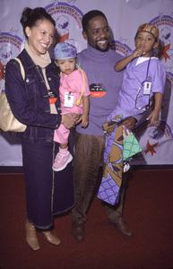 Blair Underwood, wife Desiree, kids Paris & BrielleDream Halloween 2000, 10/29/00. © 2000 Glenn Weiner - Image 17275_0025
