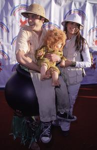 Ethan Embry, wife Amber and kid.Dream Halloween 2000, 10/29/00. © 2000 Glenn Weiner - Image 17275_0032