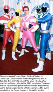 Jamie Lee Curtis, Power RangersDream Halloween 2000, 10/29/00. © 2000 Scott Weiner - Image 17275_0104