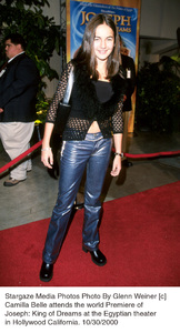 "Camilla Belle""Joseph: King Of Dreams"" Premiere, 10/30/00. © 2000 Glenn Weiner - Image 17278_0106"