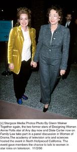 Annie Potts, Dixie CarterWomen Of Drama - 2000, 11/2/00. © 2000 Glenn Weiner - Image 17279_0105