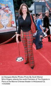 "Mimi Rogers""Rugrats In Paris: The Movie"" Premiere, 11/5/00. © 2000 Scott Weiner - Image 17290_0100"