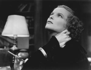 """Christopher Strong""Katharine Hepburn1933 RKOPhoto by Clarence S. Bull**I.V. - Image 17299_0008"