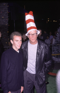 """Ted Danson with son.""""How The Grinch Stole Christmas"""" Premiere, 11/8/00. © 2000 Glenn Weiner - Image 17300_0027"""