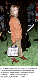 """Sharon Lawrence""""How The Grinch Stole Christmas"""" Premiere, 11/8/00. © 2000 Scott Weiner - Image 17300_0100"""