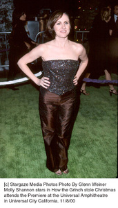 """Molly Shannon""""How The Grinch Stole Christmas"""" Premiere, 11/8/00. © 2000 Glenn Weiner - Image 17300_0101"""