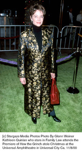 "Kathleen Quinlan""How The Grinch Stole Christmas"" Premiere, 11/8/00. © 2000 Glenn Weiner - Image 17300_0104"
