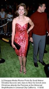 "Christine Baranski""How The Grinch Stole Christmas"" Premiere, 11/8/00. © 2000 Scott Weiner - Image 17300_0110"