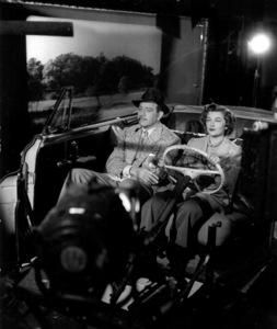 "Melvyn Douglas, Myrna LoyFilm Set""Mr. Blandings Builds His Dream House"" (1948)Copyright John Swope Trust / MPTV - Image 17314_0002"