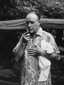 Bob Hope during a U.S.O.Christmas tour in Southeast Asia1966Photo By Gerald SmithMPTV - Image 173_480