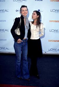 Milla Jovovich, Virginie LedoyenDesigner Garage Sale Super Saturday L.A., 11/18/00. © 2000 Glenn Weiner - Image 17320_0014