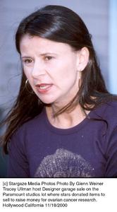 Tracey UllmanDesigner Garage Sale, 11/18/00 © 2000 Glenn Weiner - Image 17320_0102