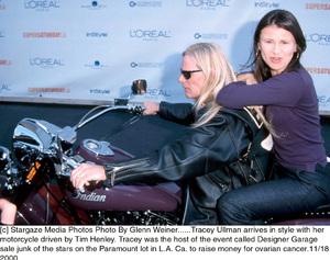 Tracey Ullman, Tim HenleyDesigner Garage Sale, 11/18/00. © 2000 Glenn Ullman - Image 17320_0103