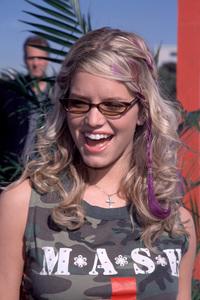 Jessica SimpsonBogart Backstage: On Tour For A Cure, 11/18/00. © 2000 Glenn Weiner  - Image 17321_0001