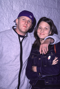 Michael Rapaport, wife NicoleJay-Z Record Party, 11/7/00. © 2000 Glenn Weiner - Image 17324_0009