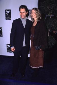 "Eric McCormack, wife Janet""Divine Design Gala: 8th Annual,"" 11/30/00. © 2000 Glenn Weiner - Image 17334_0009"