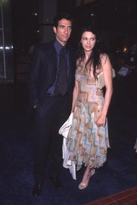 """Dylan McDermott, wife Shiva""""Divine Design Gala: 8th Annual,"""" 11/30/00. © 2000 Glenn Weiner - Image 17334_0011"""